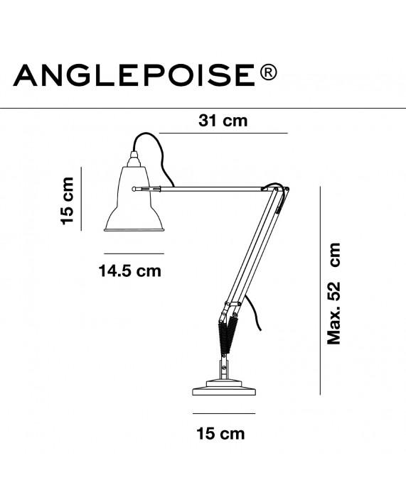 Anglepoise Original 1227 Brass Desk Lamp
