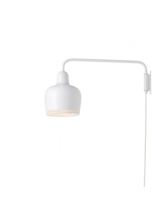 "Artek A330S ""Golden Bell"" Wall Lamp"