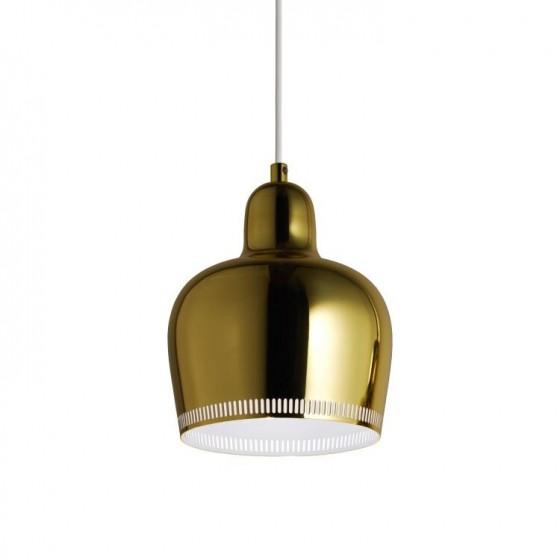 """Artek A330S """"Golden Bell"""" Pendant Lamp"""