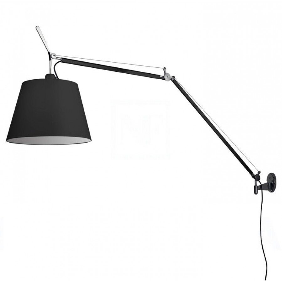 artemide tolomeo mega black parete black. Black Bedroom Furniture Sets. Home Design Ideas