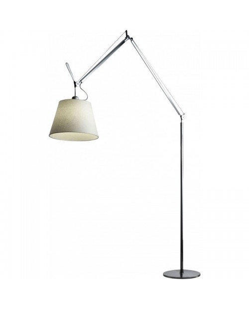 Paperrooms floor lamps for Tolomeo reading floor lamp with parchment shade