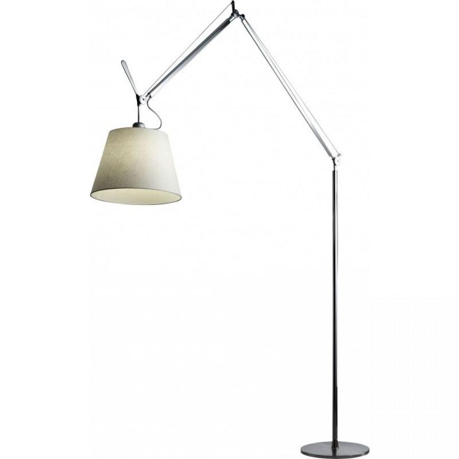 tolomeo mega terra floor lamp parchment shade - artemide tolomeo mega terra floor lamp parchment shade