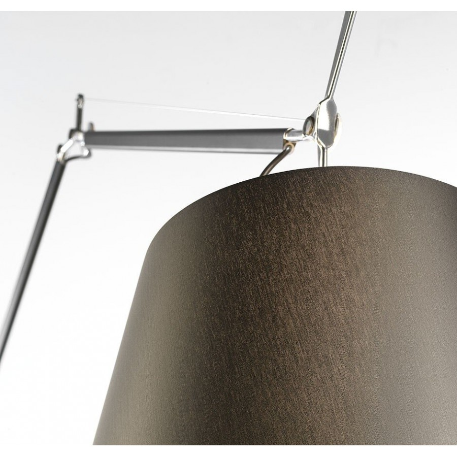 Artemide Tolomeo Mega Black Floor Lamp