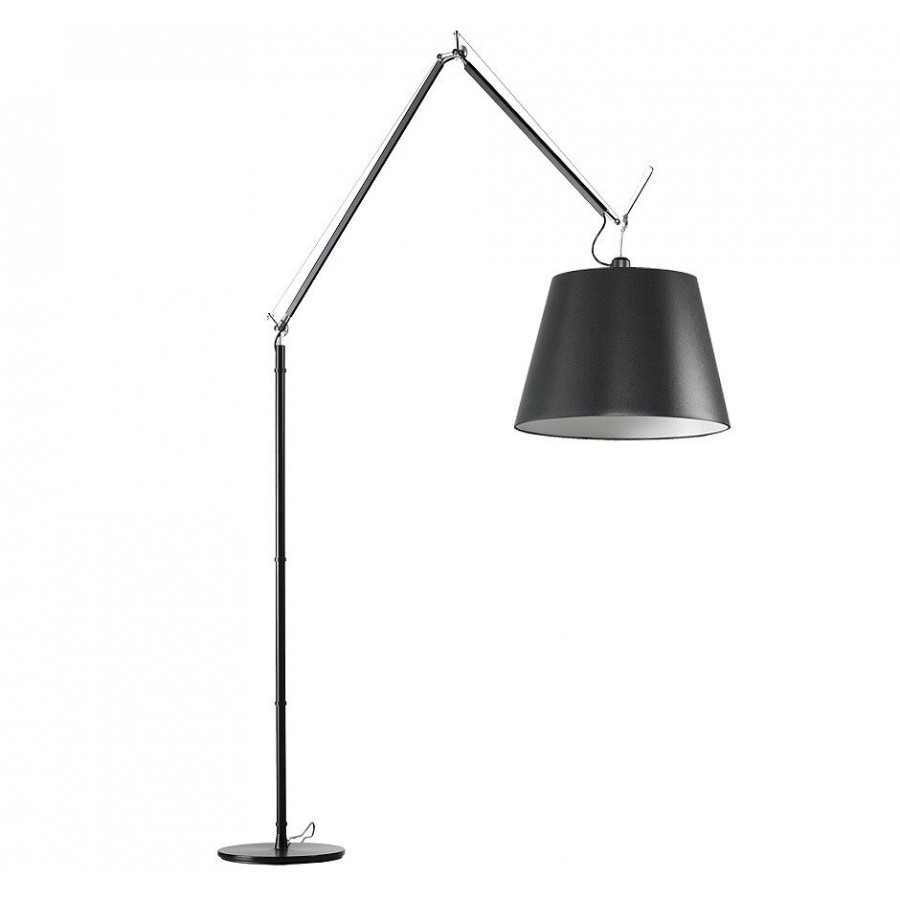 artemide tolomeo mega black floor lamp. Black Bedroom Furniture Sets. Home Design Ideas