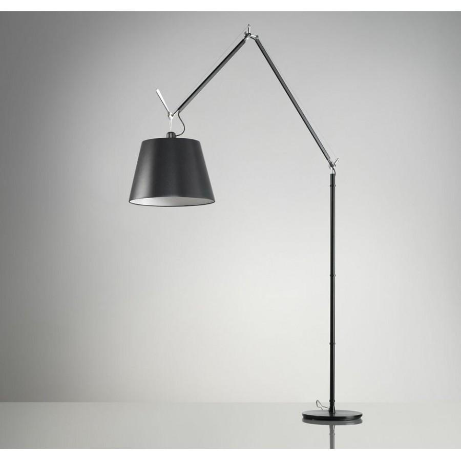 artemide tolomeo mega black floor lamp. Black Bedroom Furniture Sets. Home Design Ideas