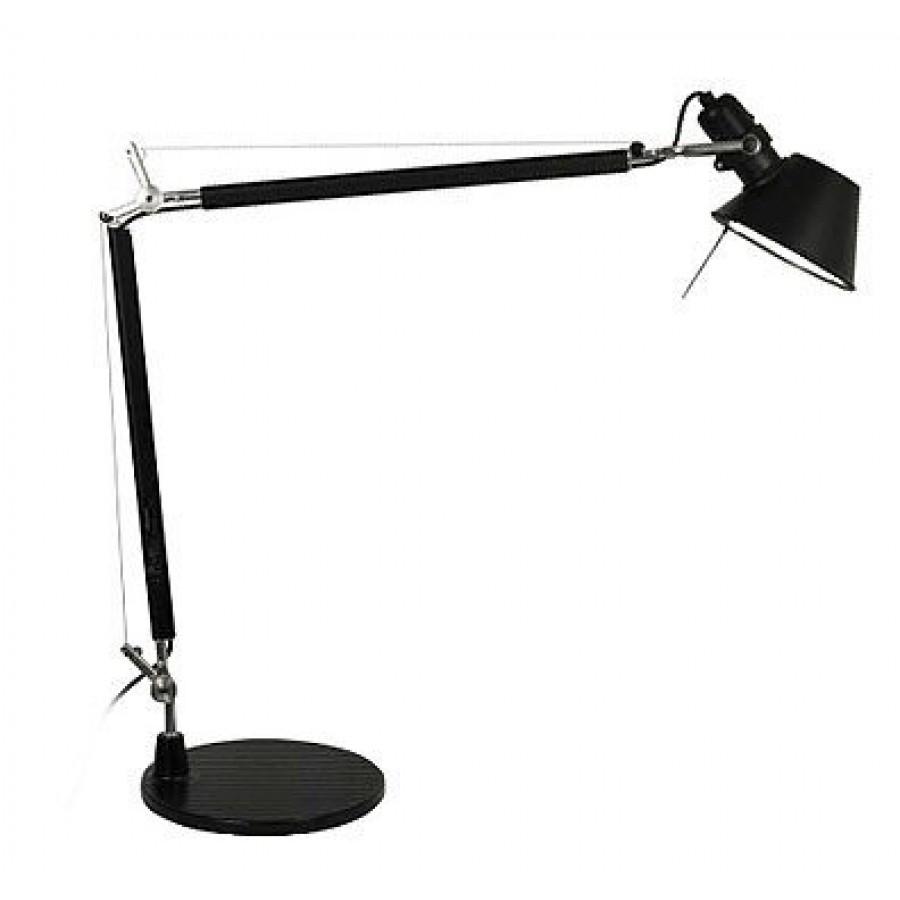 artemide tolomeo mini black desk lamp. Black Bedroom Furniture Sets. Home Design Ideas