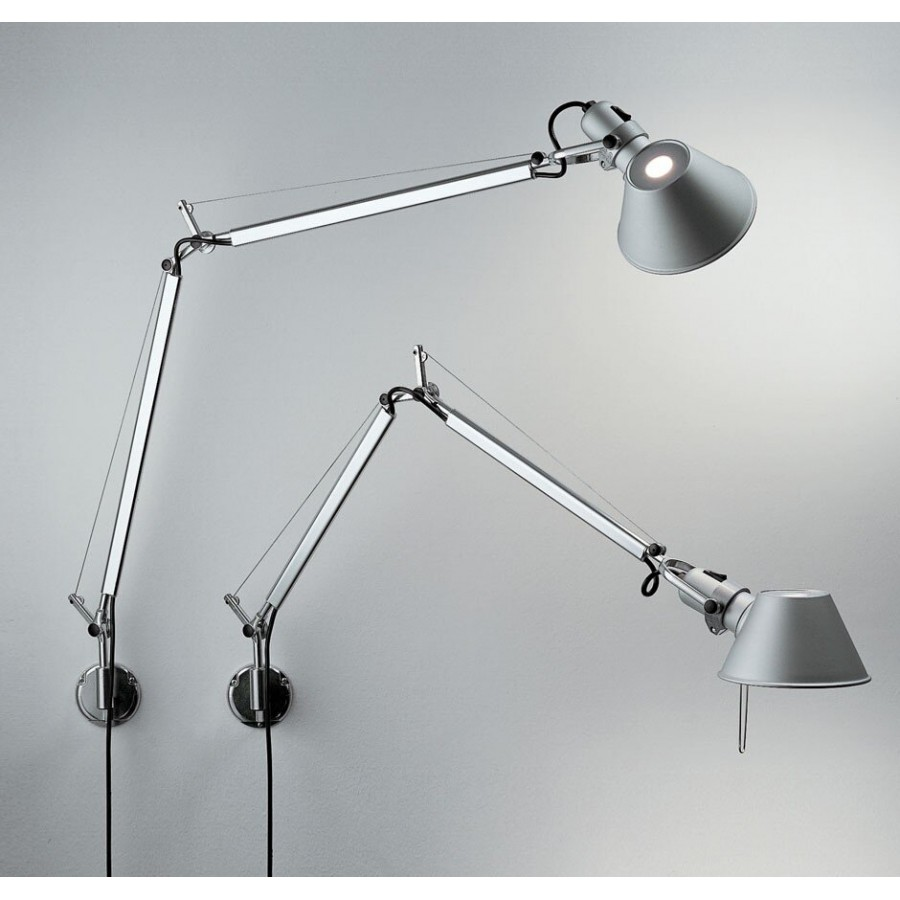 artemide tolomeo mini parete wall lamp. Black Bedroom Furniture Sets. Home Design Ideas