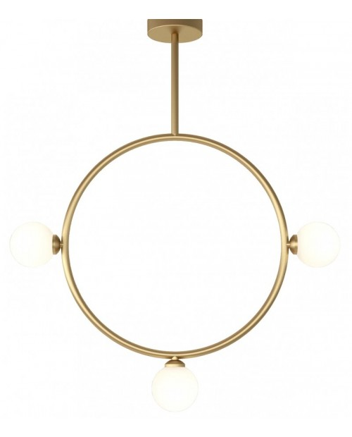 Atelier Areti Circle with 3 Globes Pendant Lamp