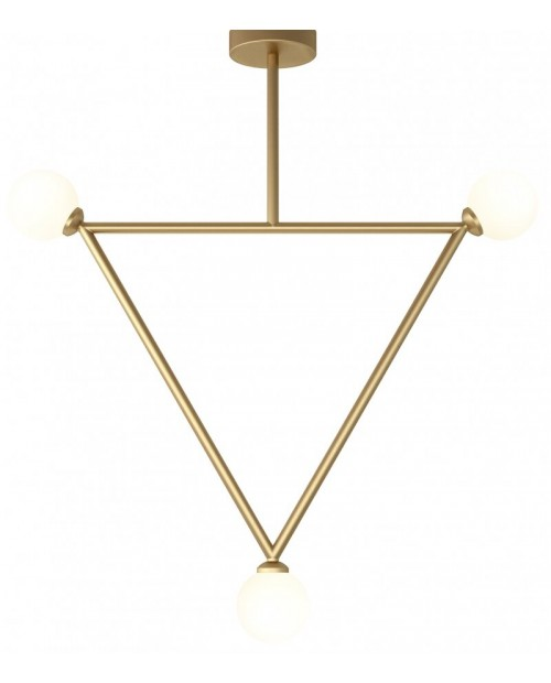 Atelier Areti Triangle with 3 Globes Pendant Lamp