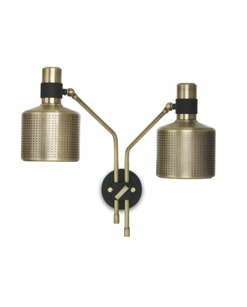 Bert Frank Riddle Double Wall Lamp