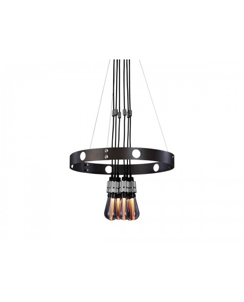 Buster + Punch Hero Light Graphite .75 m Chandelier