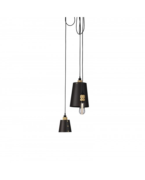 Buster + Punch Hooked 3.0 Mix Graphite Pendant Lamp