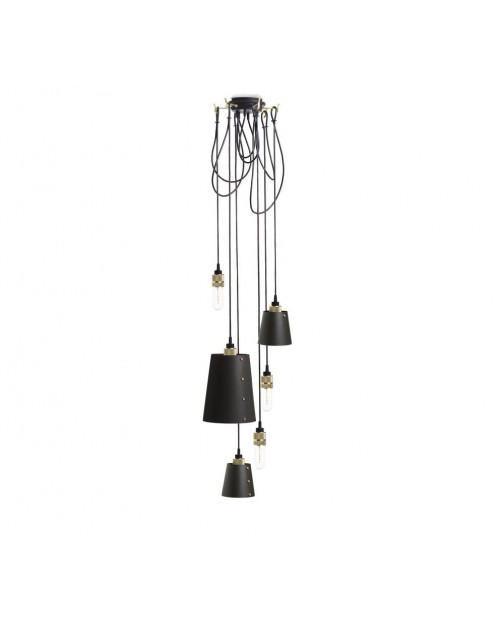 Buster + Punch Hooked 6.0 Mix Graphite Pendant Lamp