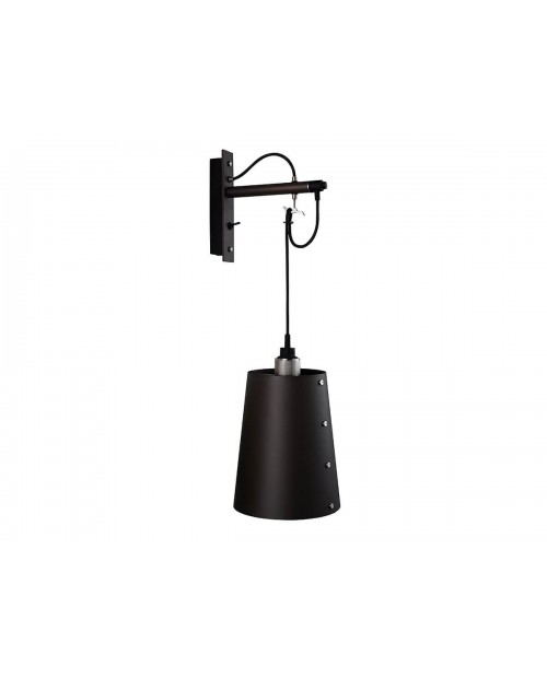 Buster + Punch Hooked Large Graphite Wall Lamp