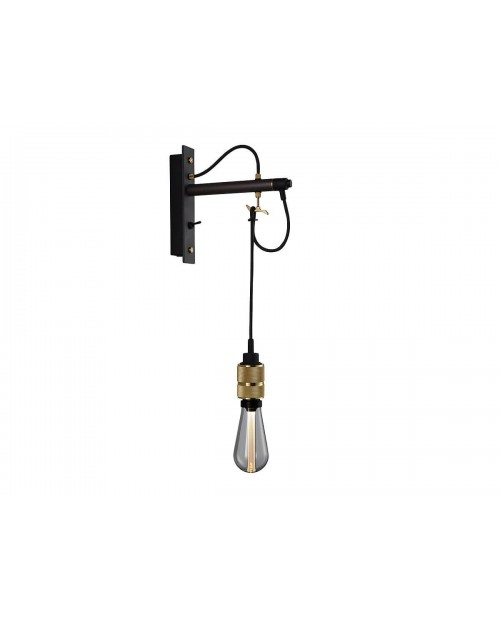 Buster + Punch Hooked 1.0 Nude Graphite Wall Lamp