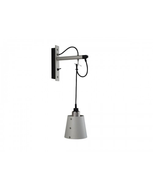 Buster + Punch Hooked Small Stone Wall Lamp