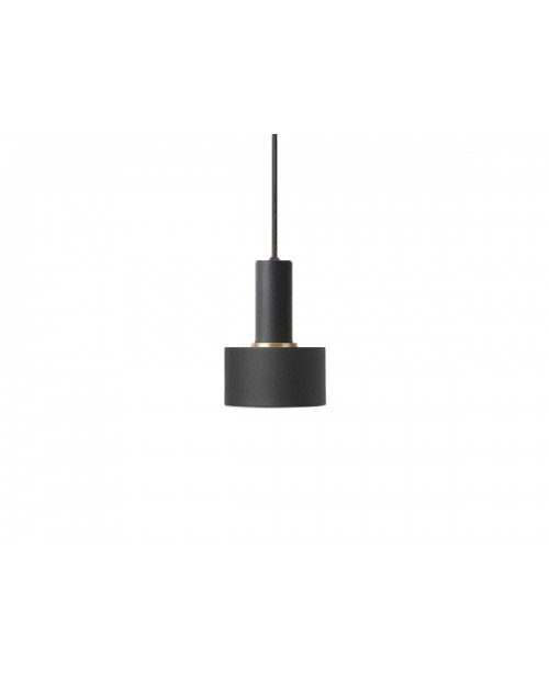 Ferm LIVING Collect Pendant with Disc Shade and Black Socket