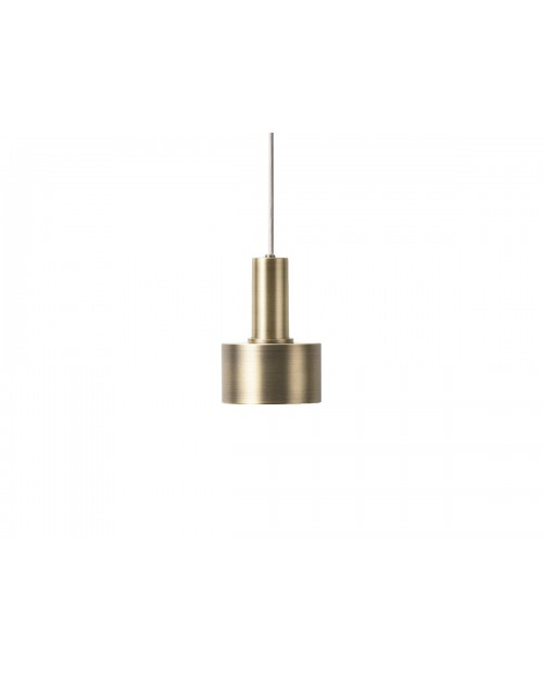 Ferm LIVING Collect Pendant with Disc Shade and Low Brass Socket