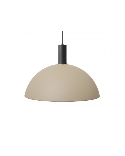 Ferm LIVING Collect Pendant with Dome Shade and Black Socket