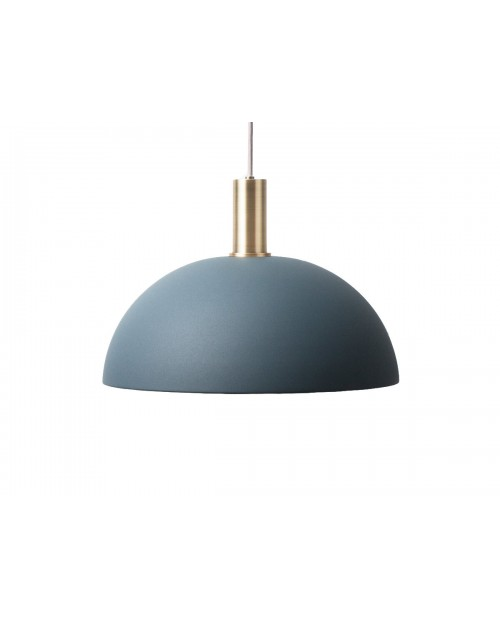 Ferm LIVING Collect Pendant with Dome Shade and Brass Socket