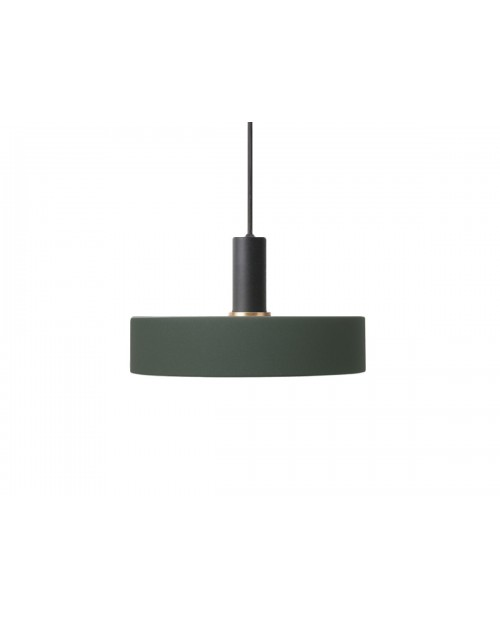 Ferm Living Collect Pendant with Record Shade and Black Socket