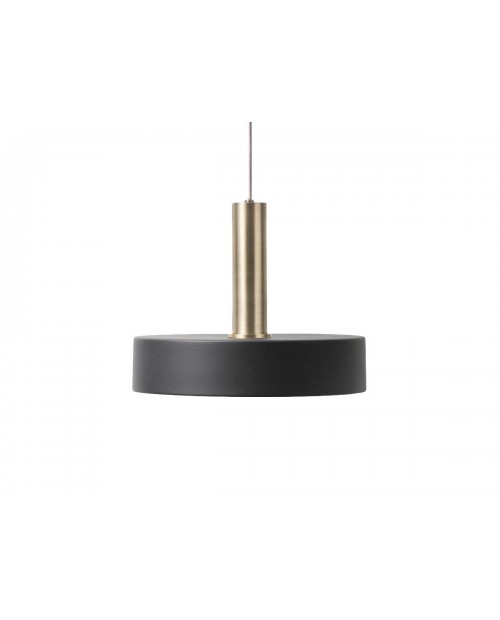 Ferm Living Collect Pendant with Record Shade and Brass Socket