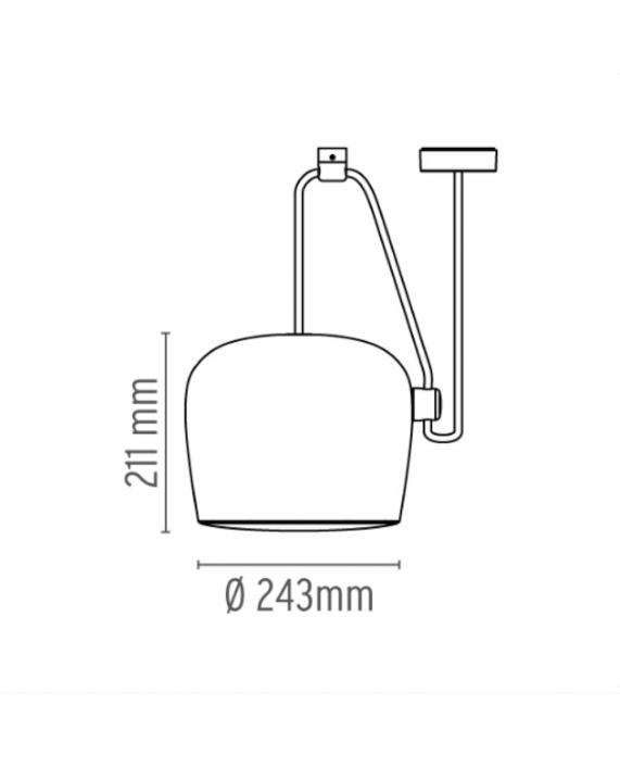 Flos Aim Single Pendant Lamp