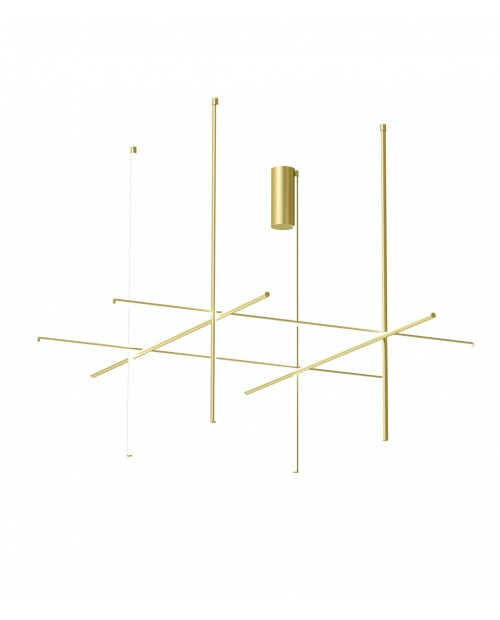 Flos Coordinates C4 Long Ceiling Lamp