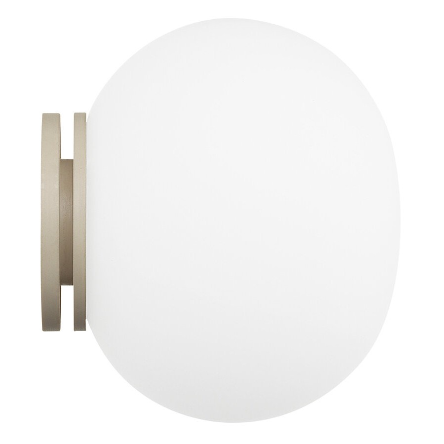 flos mini glo ball c w wall lamp. Black Bedroom Furniture Sets. Home Design Ideas