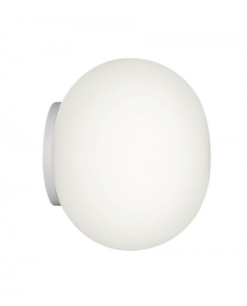 Flos Mini Glo-Ball C/W Wall Lamp