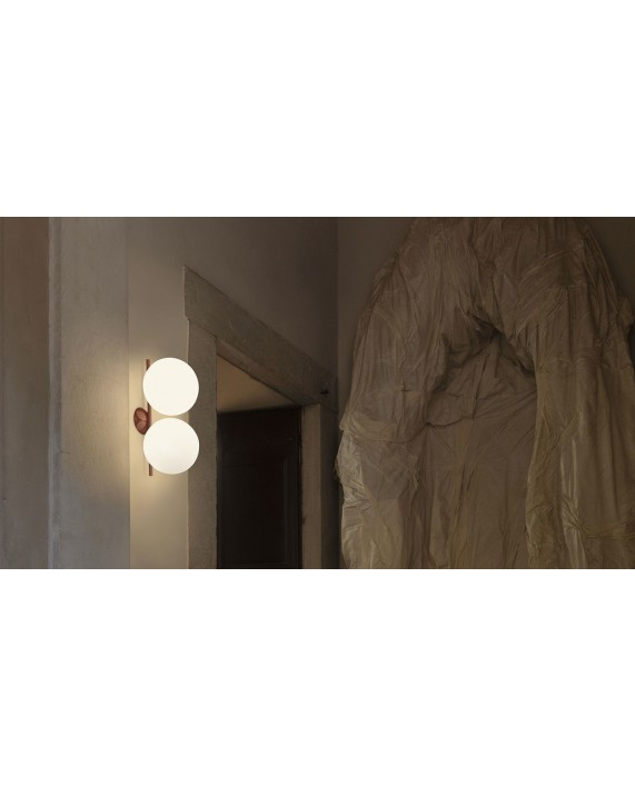 Flos IC C/W Double Ceiling Lamp