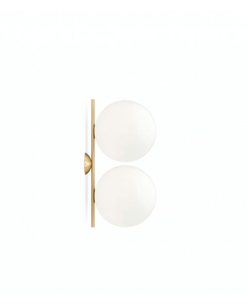 Flos IC C/W Double Ceiling Lamp
