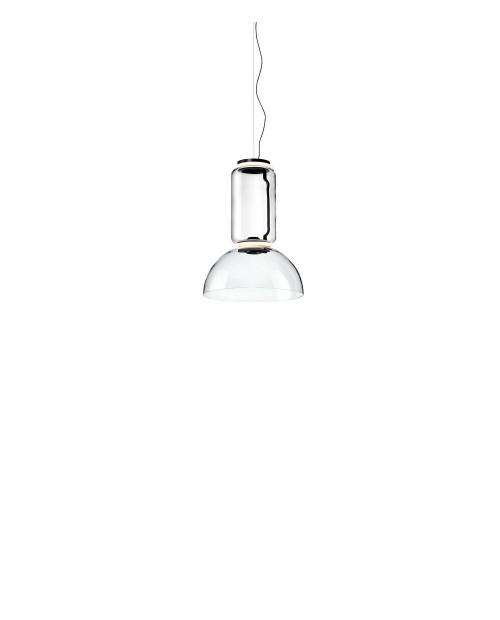 Flos Noctambule Low Cylinder with Bowl Pendant Lamp