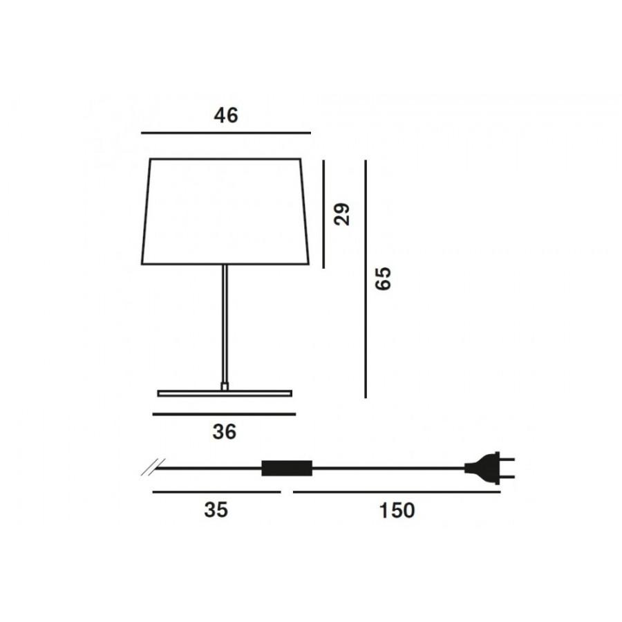 Twiggy XL Table Lamp