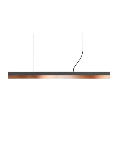 GANTlights [C] Concrete & Copper Pendant Lamp