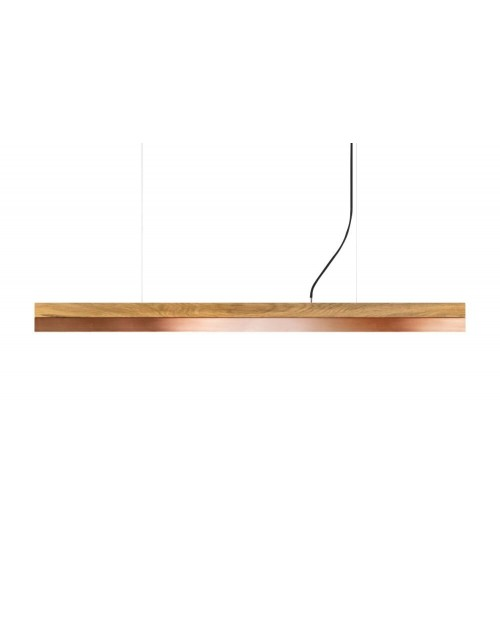 GANTlights [C] Oak & Copper Pendant Lamp