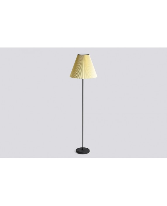 HAY Cast Floor Lamp  with Accordion Shade