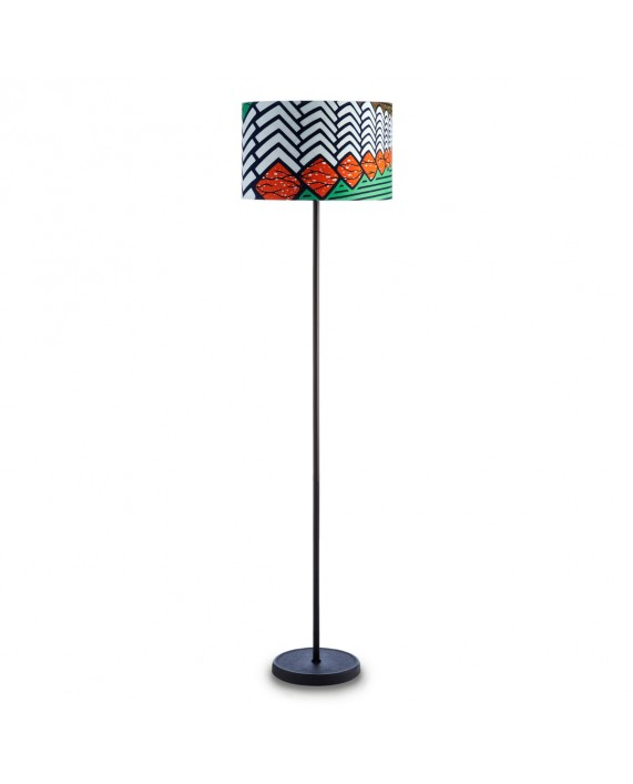 HAY Cast Floor Lamp  with Drum Shade