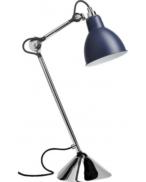 Lampe Gras No205 Table Lamp Chrome Body