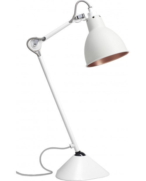 Lampe Gras No205 Table Lamp White Body