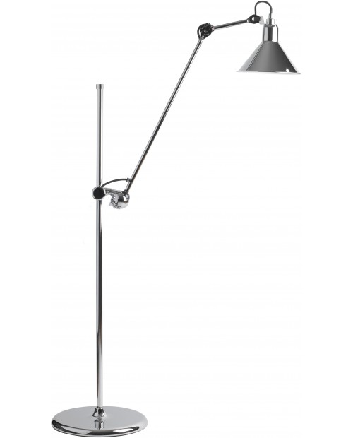 Lampe Gras No215 Floor Lamp Chrome Body