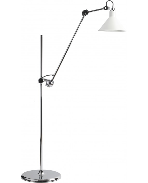 Lampe Gras No215 Floor Lamp Chrome Body