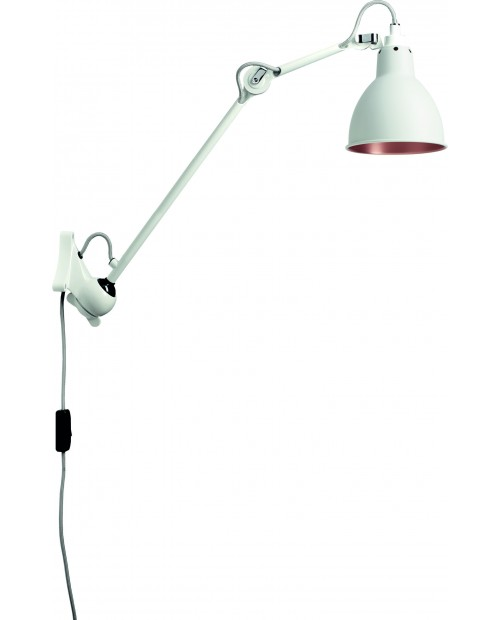 Lampe Gras No222 Wall Lamp White Body