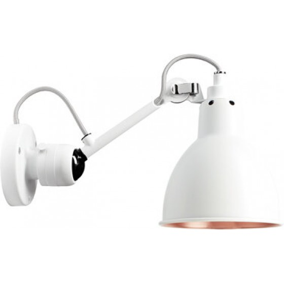 Lampe Gras No304 Wall Lamp White Body