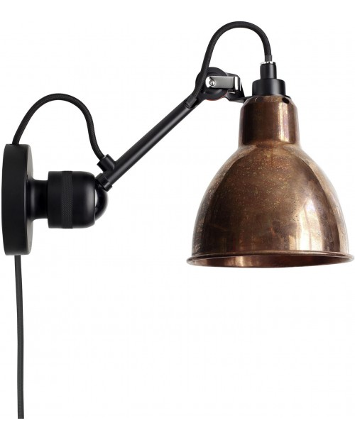 Lampe Gras No304CA Switch on Cable Wall Lamp