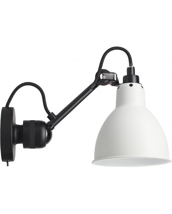 Lampe Gras No304SW Switch on Base Wall Lamp Black Body