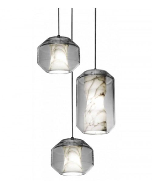 Lee Broom Chamber 3 Piece Chandelier