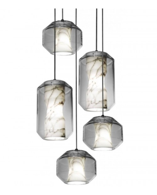 Lee Broom Chamber 5 Piece Chandelier