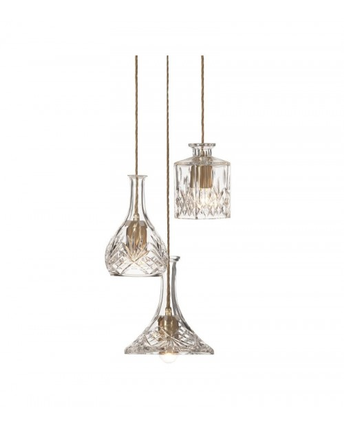 Lee Broom Decanterlight 3 Piece Chandelier