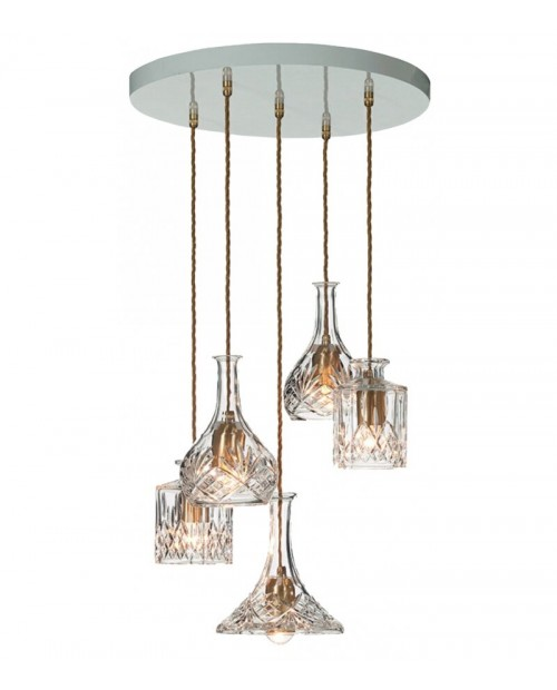 Lee Broom Decanterlight 5 Piece Chandelier